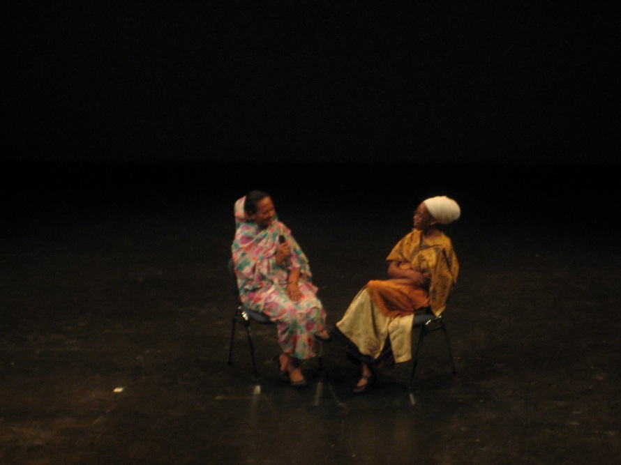 Mother Libation 2 Ameena Al-Rashad and  Carol Marie Webster